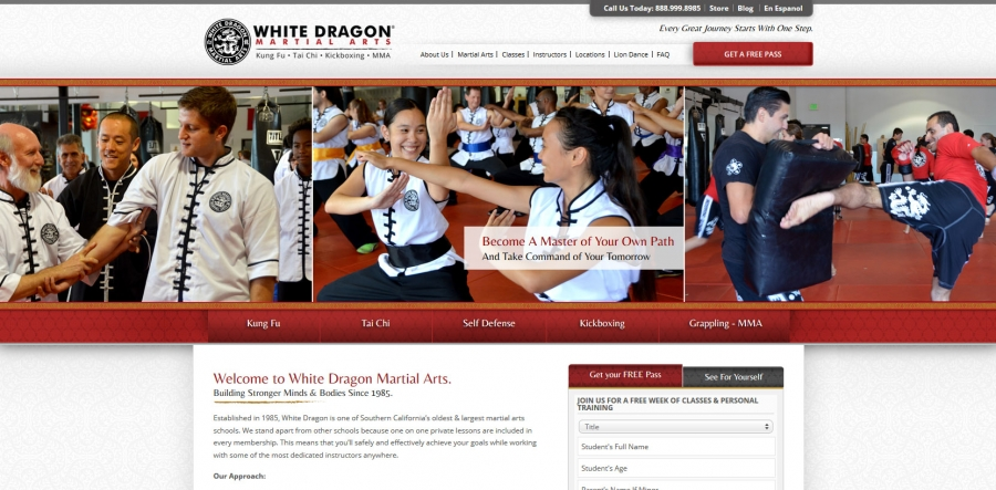 White Dragon Martial Arts