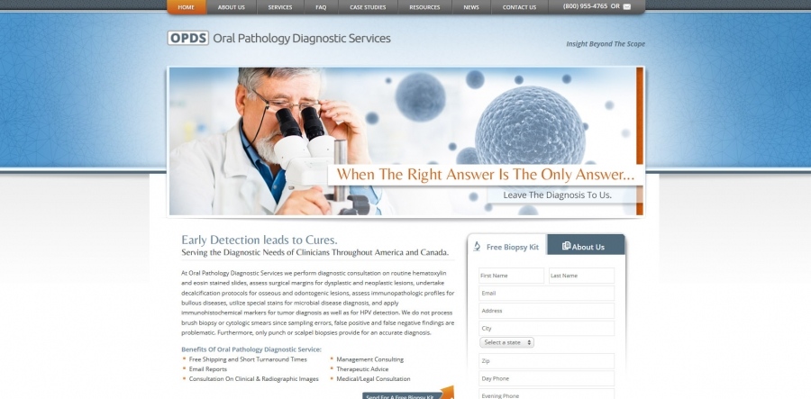 Oral Pathology Diagnostic Services